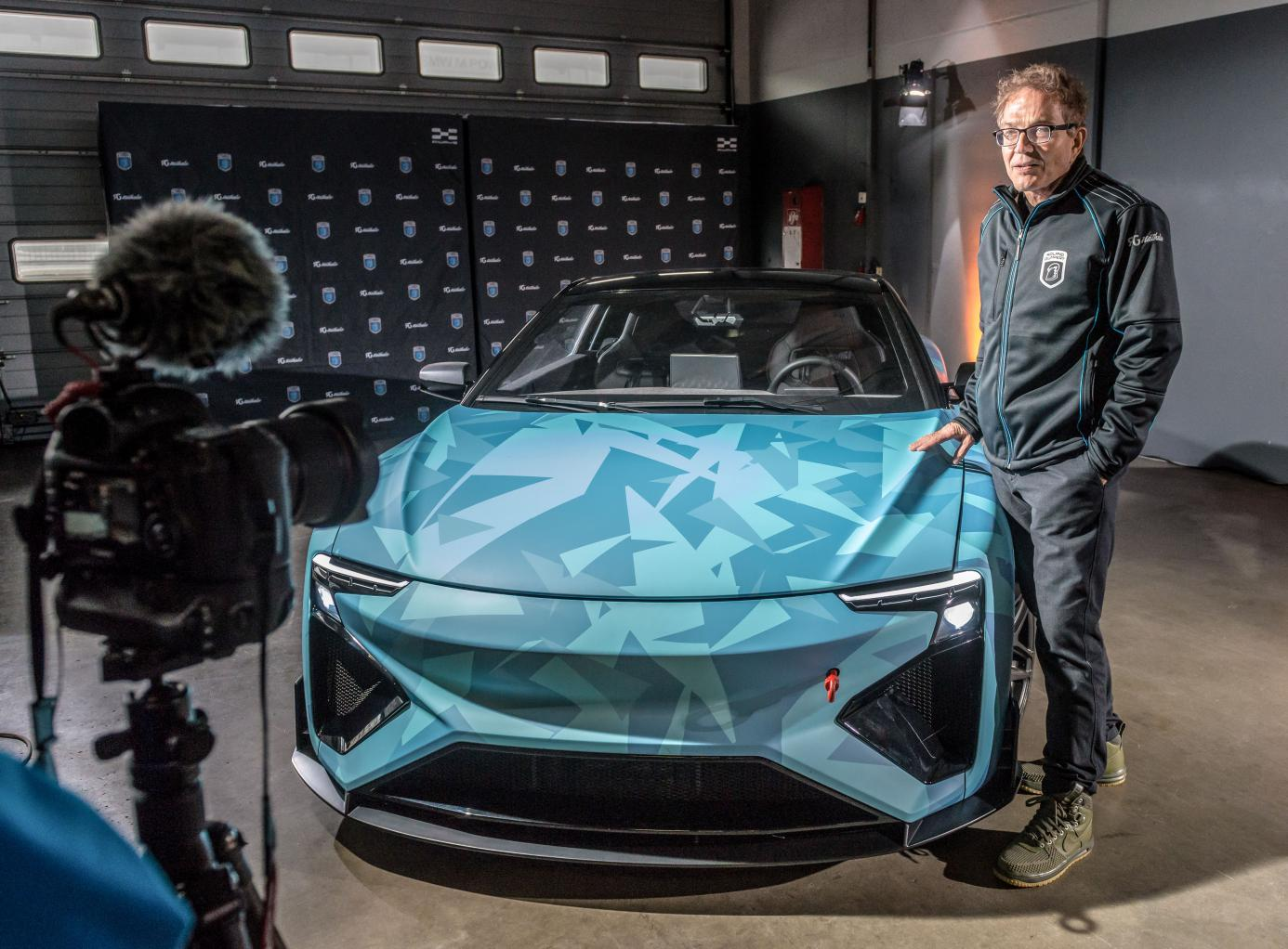 Roland Gumpert与原型车