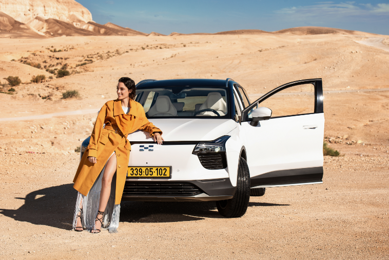 科技强国新宠,爱驰U5以色列预售正式开启